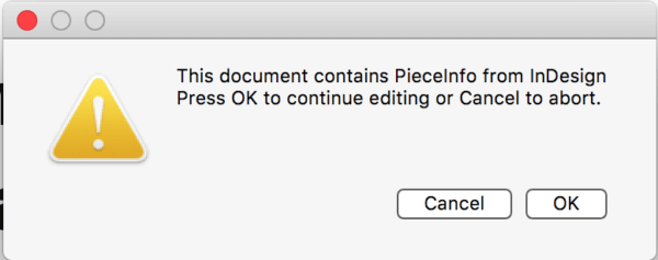 Warning: This document contains PiecceInfo from InDesign.